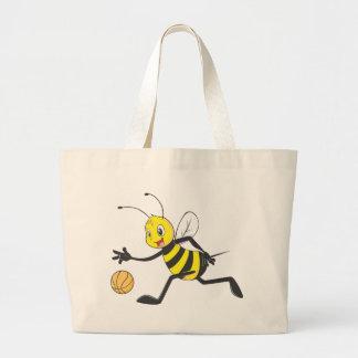 Custom Shirts : Playing Basketball Bee Shirts Tote Bags