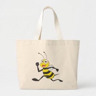 Custom Shirts : Running Jumping Bee Shirts Canvas Bags