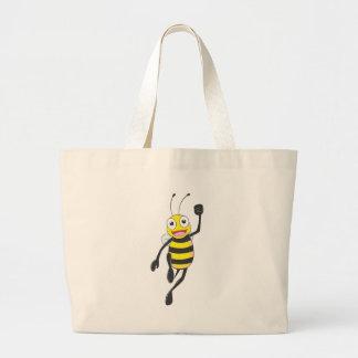 Custom Shirts : Running Jumping Bee Shirts Tote Bag