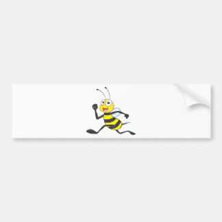 Custom Shirts : Running Jumping Bee Shirts Bumper Sticker