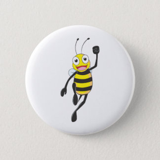 Custom Shirts : Running Jumping Bee Shirts Button