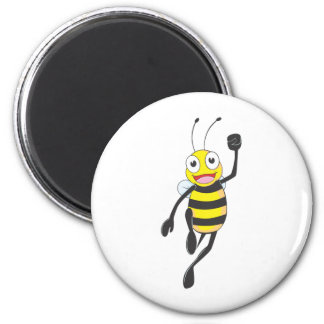 Custom Shirts : Running Jumping Bee Shirts Magnet