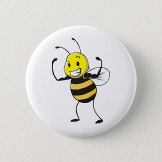 Custom Shirts : Strong Muscular Bee Shirts Button