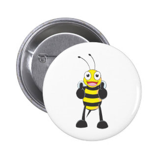 Custom Shirts : Thumbs up Bee Shirts Button