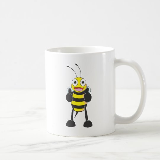 Custom Shirts : Thumbs up Bee Shirts Coffee Mug
