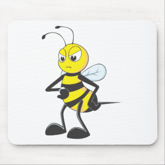 Custom Shirts : Waiting Irritated Bee Shirts Mouse Pad