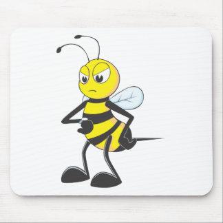 Custom Shirts : Waiting Irritated Bee Shirts Mousepads