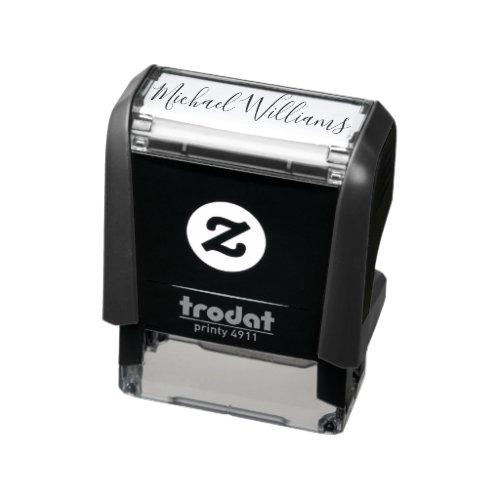 Custom Signature Personalized Self_inking Stamp