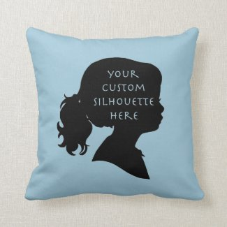 Custom Silhouette Pillow