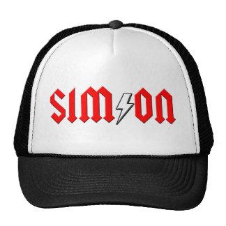 custom SIMON rock and roll shirt Trucker Hat