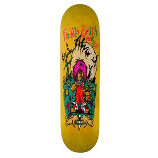 custom skateboard design