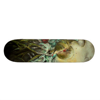 Custom Skateboard: On A Precipice Perched Skateboard