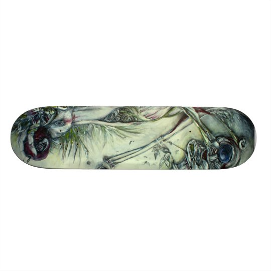 Custom Skateboard: The Most Precarious Of Poisons Skateboard Deck