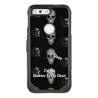 Custom Skeleton In the Closet OtterBox Commuter Google Pixel Case