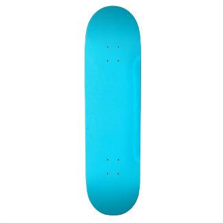 Custom Sky Blue Skateboard Deck
