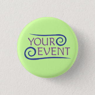Custom Small Flair Button Pin Company Event Logo