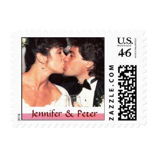 Custom Small Size Wedding Photo Postage Stamp