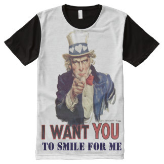 Custom Smile for me All-Over-Print Shirt