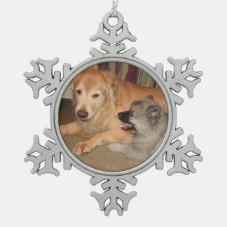 Custom snowflake ornament 2