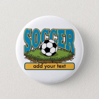 Custom Soccer Add Text Button
