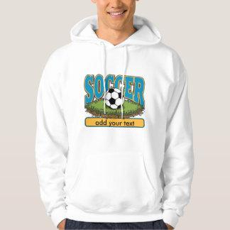 Custom Soccer Add Text Hoodie
