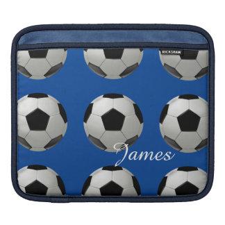 Custom soccer ball iPad sleeve
