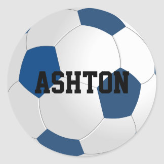 Custom Soccer Ball Sticker