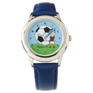 Custom Soccer Boy Wristwatches