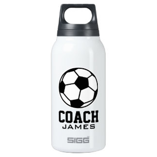 Custom soccer coach sports SIGG Thermo bottle