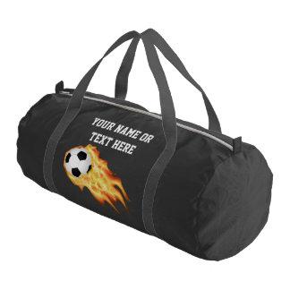 Custom Soccer Duffle Bag Your Text
