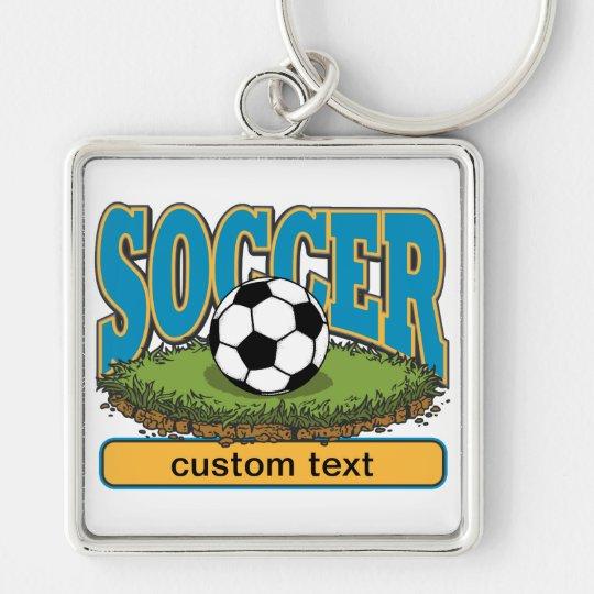Custom Soccer Keychain