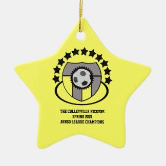 Custom Soccer League Gift or Award - Ornaments