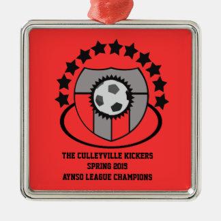 Custom Soccer League Gift or Award - Ornament