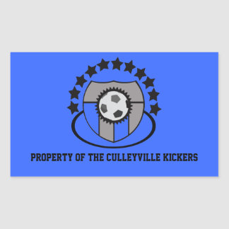 Custom Soccer League Gift or Award - Stickers