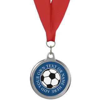 Custom soccer medals | DIY medallions with ribbon