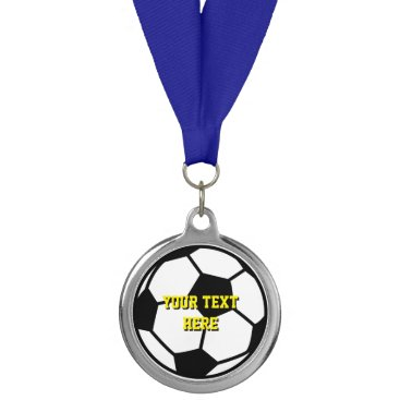 Beach Themed Custom soccer sports medallion medal trophies