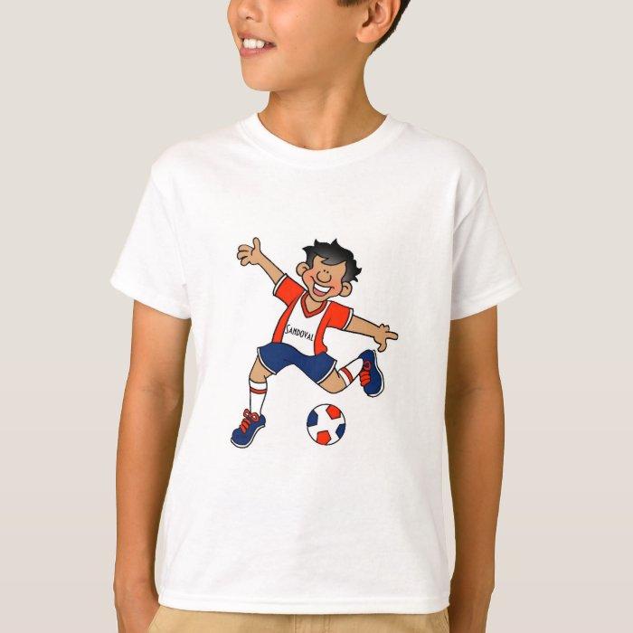 Custom soccer team player t shirt zazzle for Custom t shirts for teams