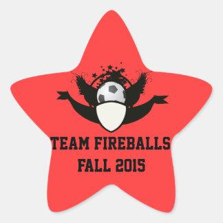 Custom Soccer Team Season I.D. Adhesive - Stickers