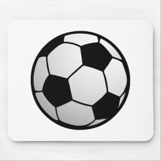 Custom SoccerBall for soccer Teams and Soccer Fans Mouse Pad
