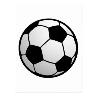 Custom SoccerBall for soccer Teams and Soccer Fans Postcard