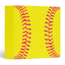 Custom Softball Binder