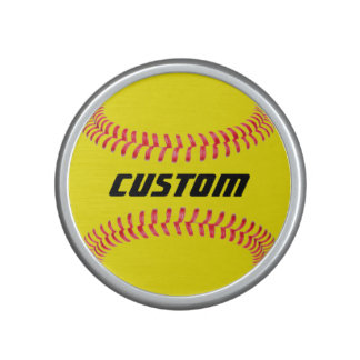 Custom Softball Bluetooth Speaker