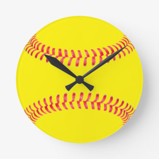Custom Softball Clock