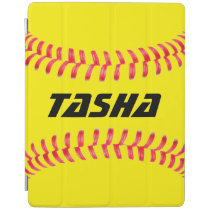 Custom Softball iPad Cover