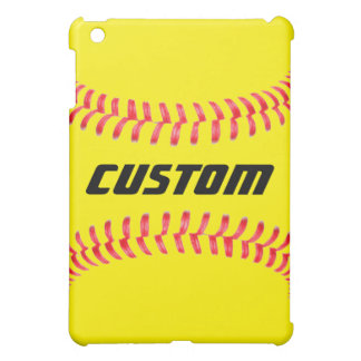 Custom Softball IPad Mini Case