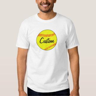 Custom Softball Men's T-shirt