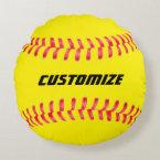 Custom Softball Pillow (<em>$29.95</em>)
