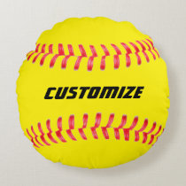 Custom Softball Pillow