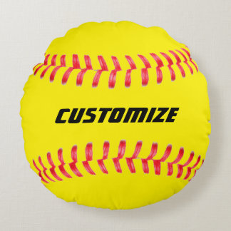 Custom Softball Pillow