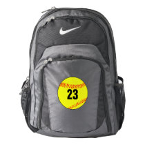 Custom Softball Player Backpack